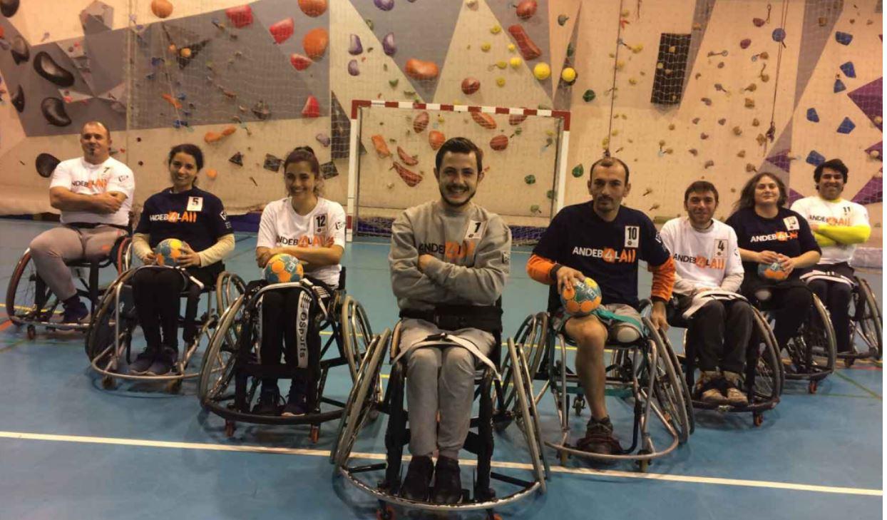 Equipa de andebol em cadeira de rodas na Figueira da Foz é uma realidade