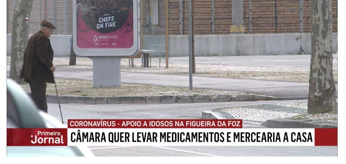 A Câmara Municipal da Figueira da Foz, pretende entregar em casa bens de primeira necessidade.